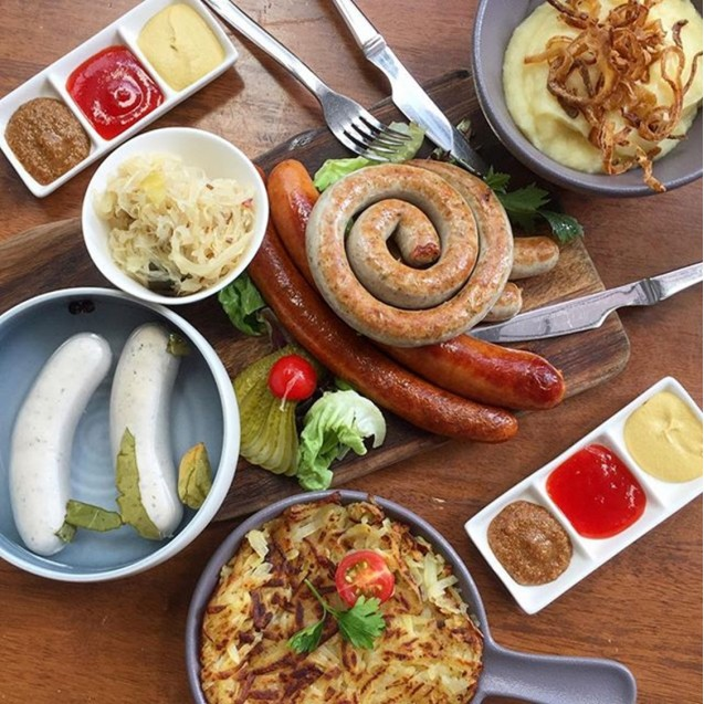German Sausage Platter  (CHEF Special)