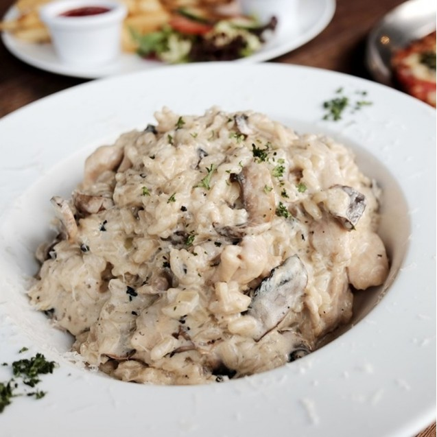 Chicken & Mushroom Risotto  (BEST Seller)