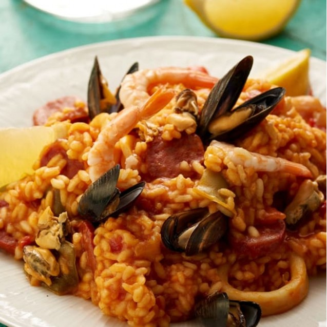 Seafood Risotto  (BEST Seller)