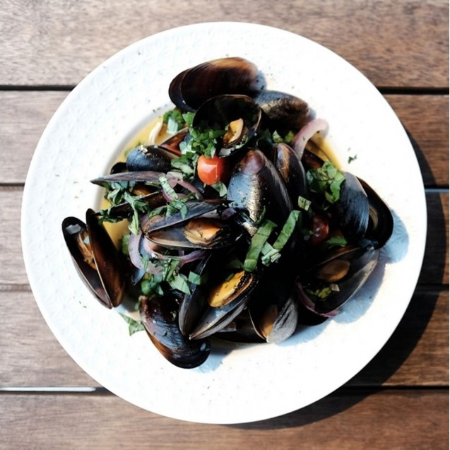 Steamed Blue Mussels (BEST Seller)